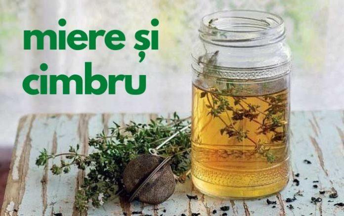 Maceratul de miere cu cimbru și beneficiile acestuia – Poate vindeca infecțiile respiratorii și..