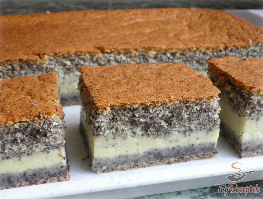 Prăjitură deșteaptă cu mac – e musai s-o încerci! Se prepară in doar câteva minute