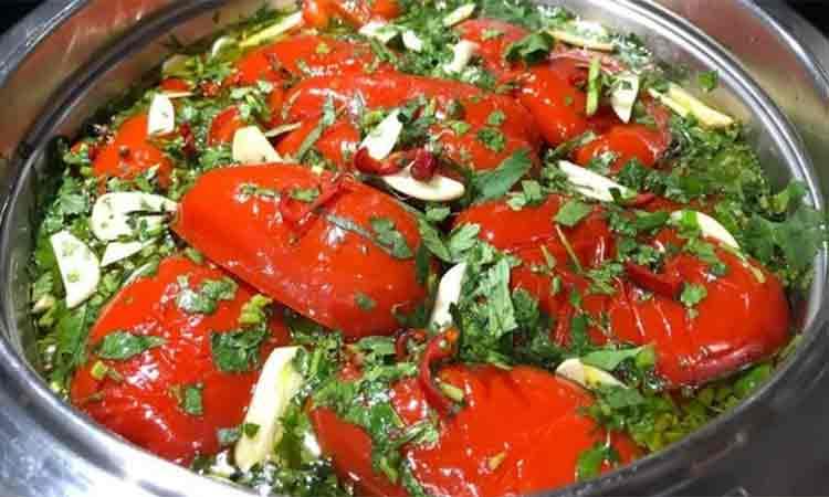 Salata de ardei gras pentru iarna. Simplu de preparat si foarte gustoasa