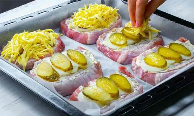 Cotlet de porc la cuptor: Mancare fantastica, potrivita chiar si pentru o masa festiva