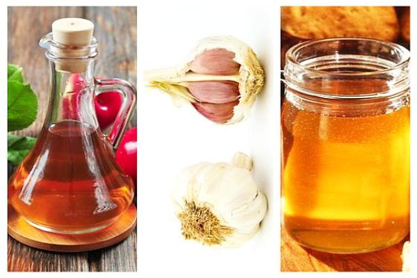 Sirop din usturoi, otet de mere și miere de albine – pentru scaderea colesterolului, a tensiunii si tine departe virușii.