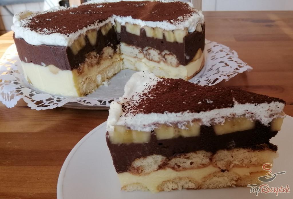 felie tort cacao